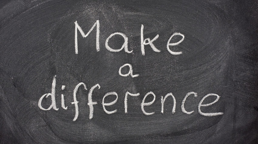 Image result for making a difference
